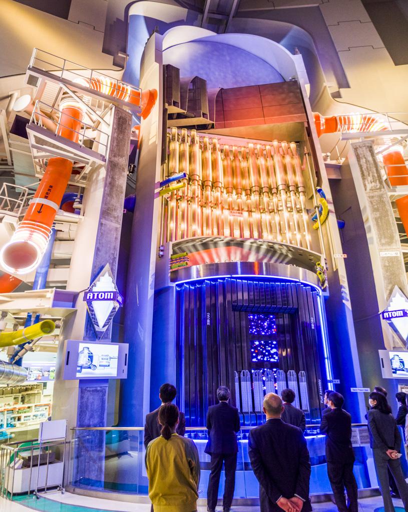 浜岡原子力発電所の実物大原子炉模型