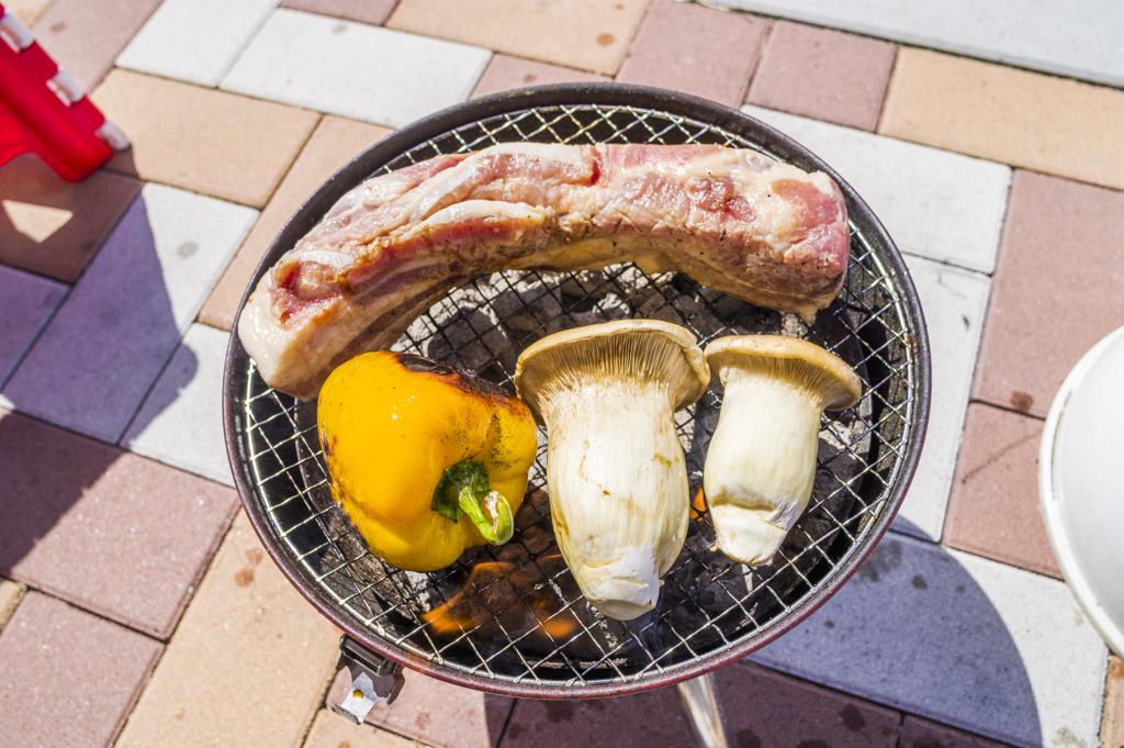 バーベキューポークバラ肉