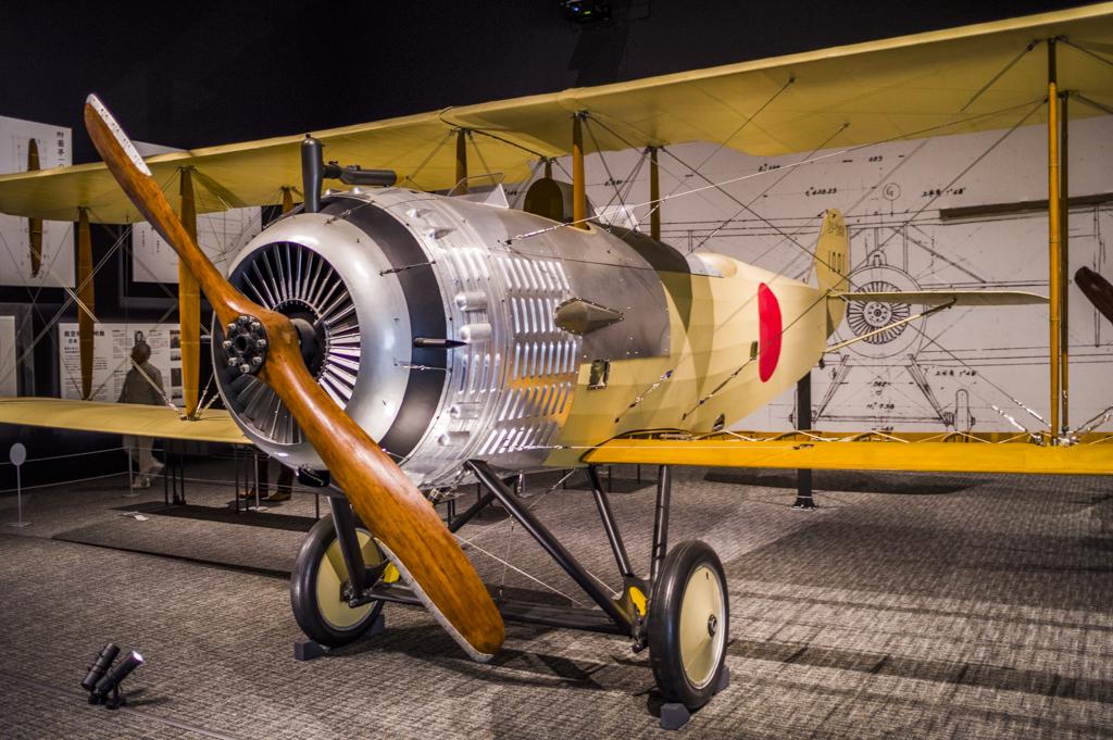 岐阜かかみがはら航空宇宙博物サムルソン復元機