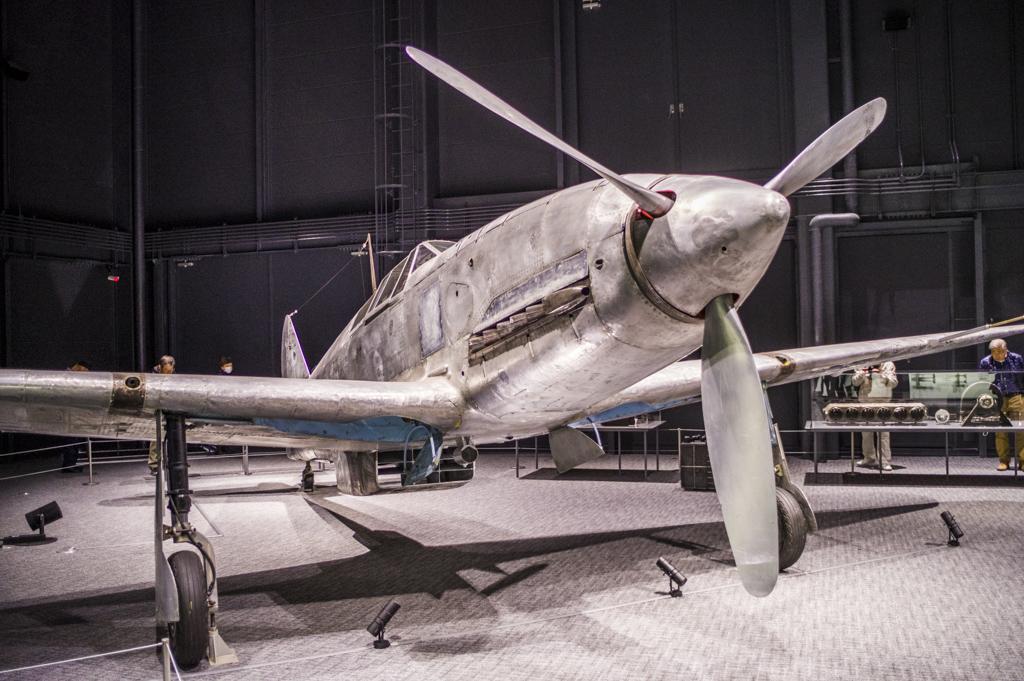日本に唯一現存する三式戦闘機二型「飛燕」