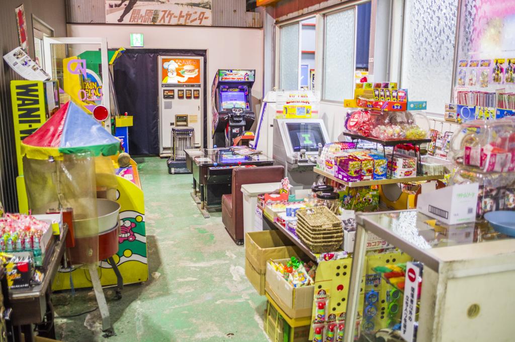 岐阜レトロミュージアム内のレトロなゲームセンター