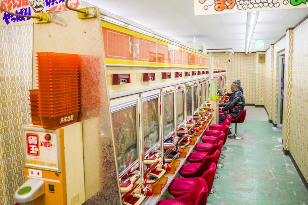 岐阜レトロミュージアムのパチンコホールは羽根モノ揃い