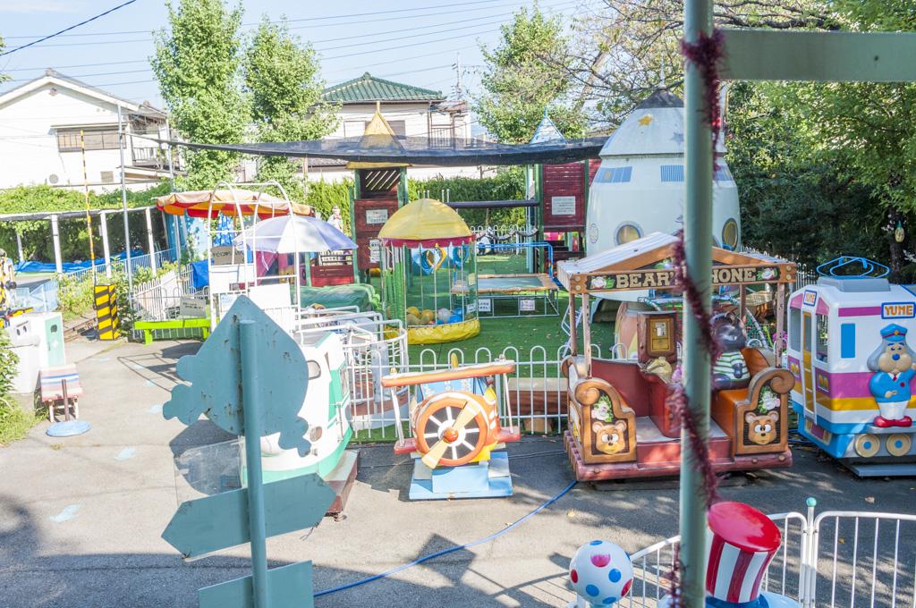 甲府市遊亀公園付属動物園昭和レトロな遊園地