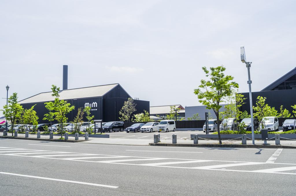 ミツカンミュージアムの駐車場