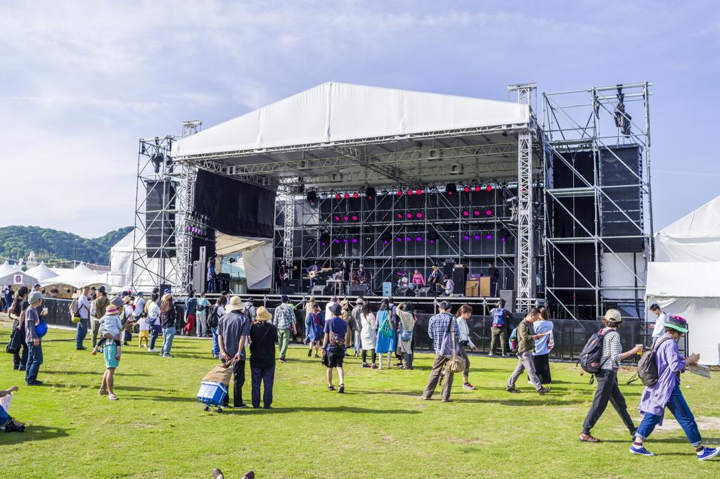 森、道、市場2018最大のライブステージ
