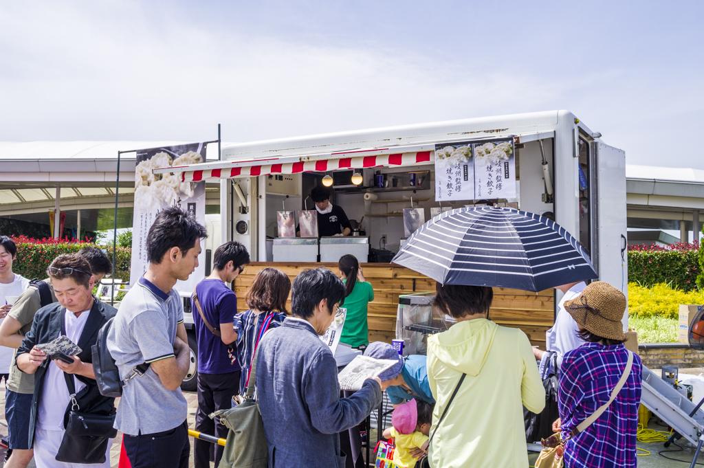 餃子まつりin中京競馬場2018岐州