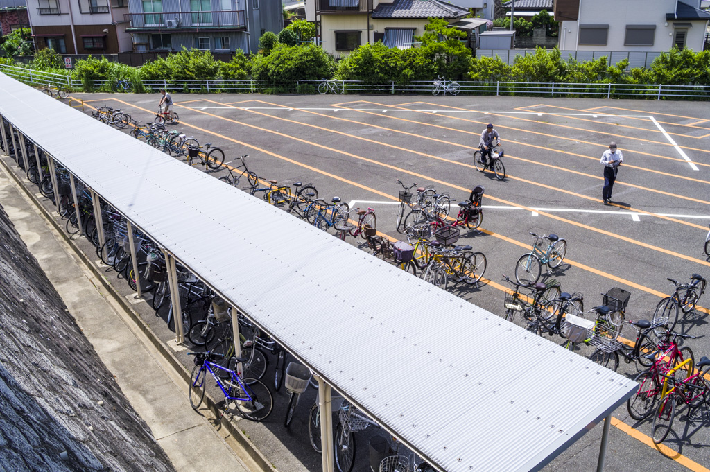 中京競馬場の無料駐輪場