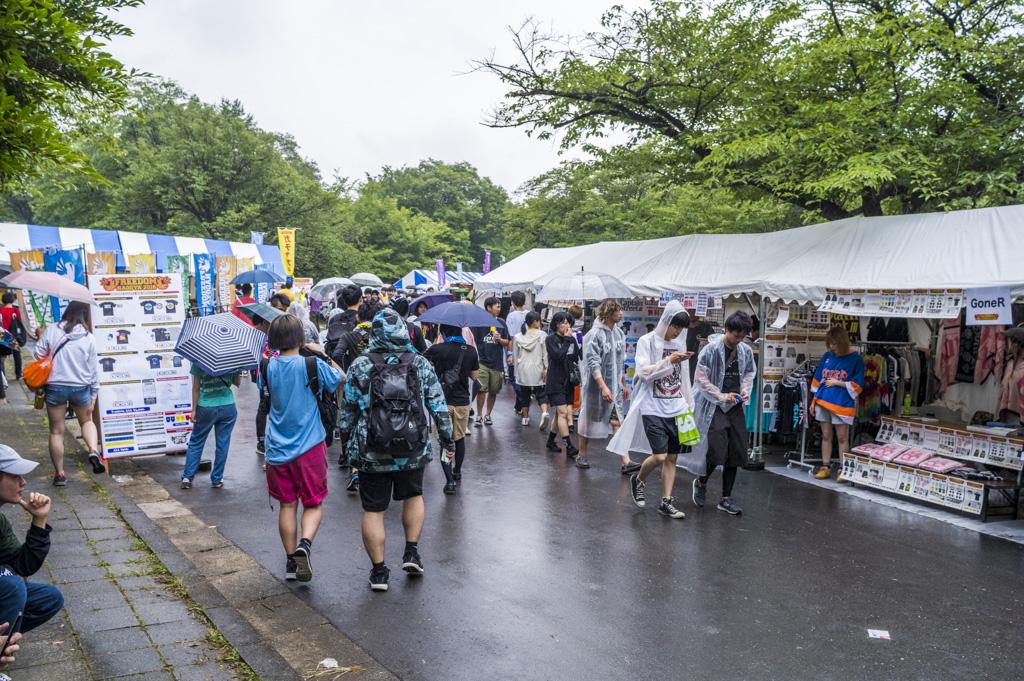 フリーダム名古屋2018の物販ブース