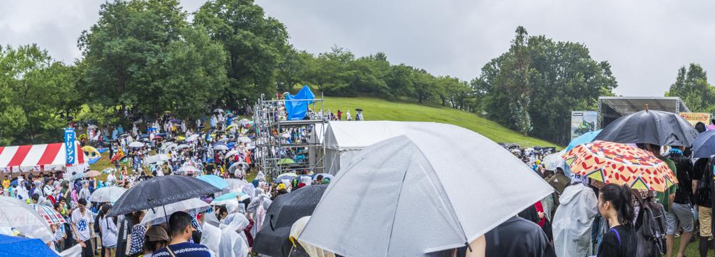 フリーダム名古屋2018のメインステージ会場全体写真