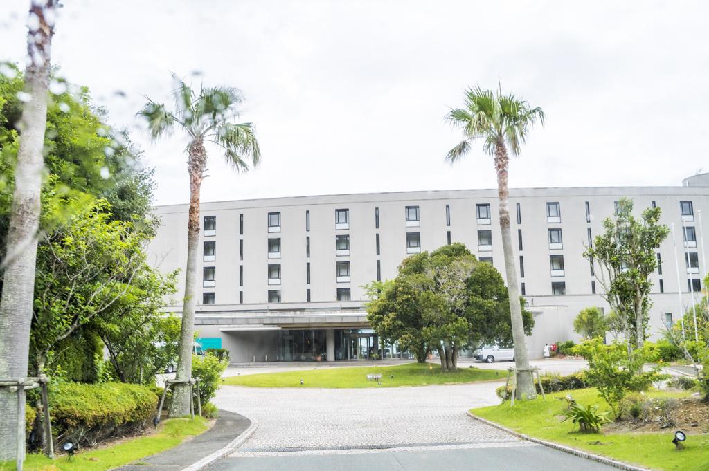 伊勢志摩のリゾートホテルタラサ志摩の外観