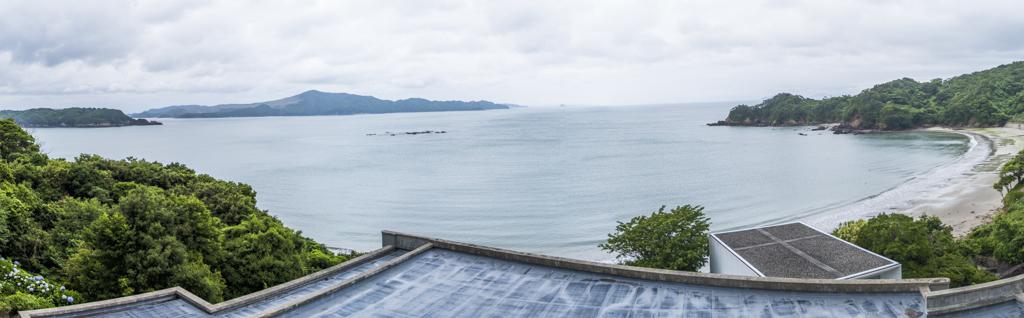 伊勢志摩のリゾートホテルタラサ志摩のオーシャンビューの景色