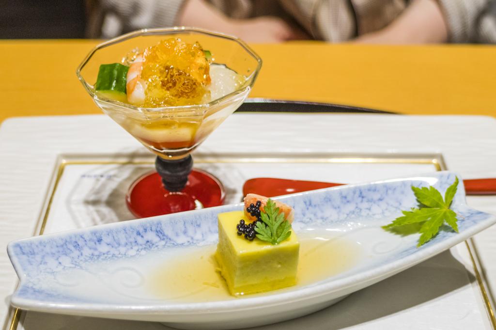 タラサ志摩での食事日本料理おきかぜカジュアルコース