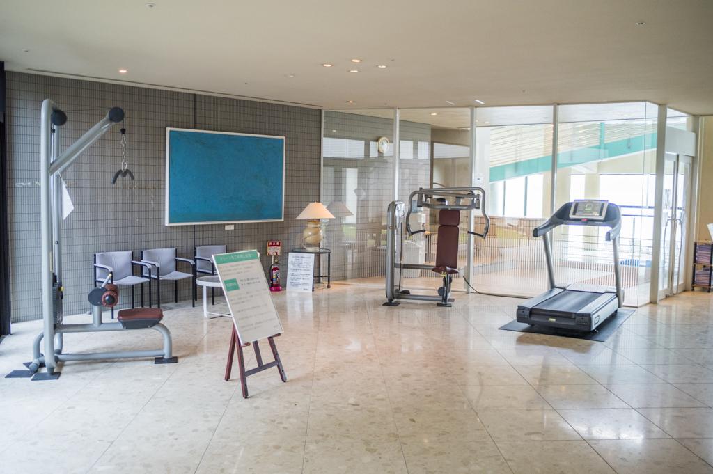 タラサ志摩のトレーニングマシン