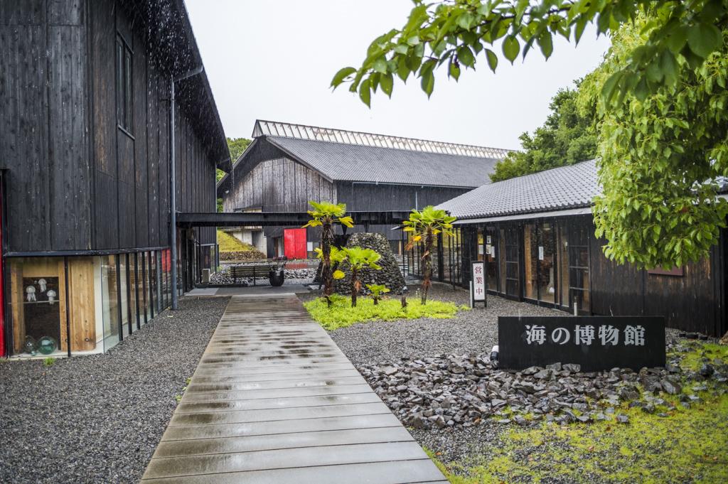 三重伊勢志摩鳥羽の海の博物館の外観