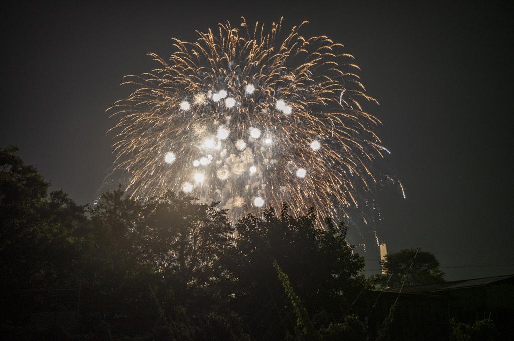 岡崎城下家康公夏まつり第70回花火大会矢作川打ち上げ