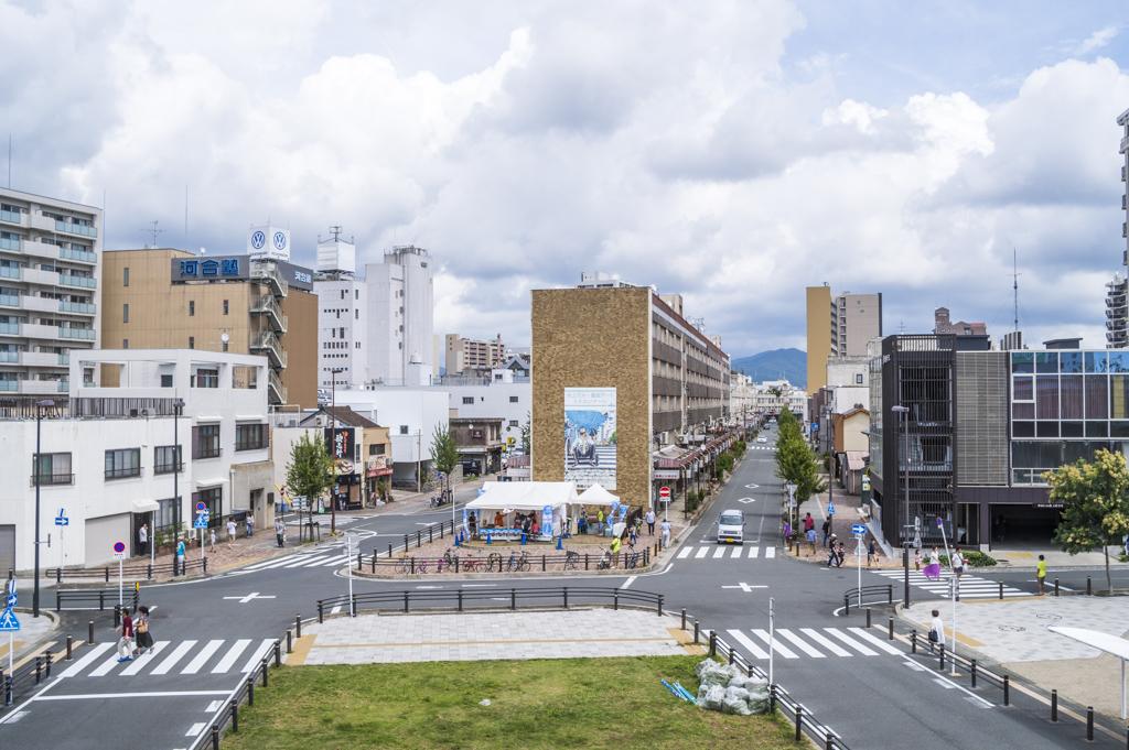 水上ビルで開催の豊橋アートイベントsebone2018