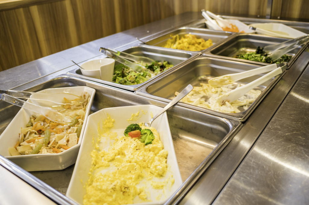 rakuspacafe浜松らくスパカフェのサラダビュッフェバイキング食べ放題