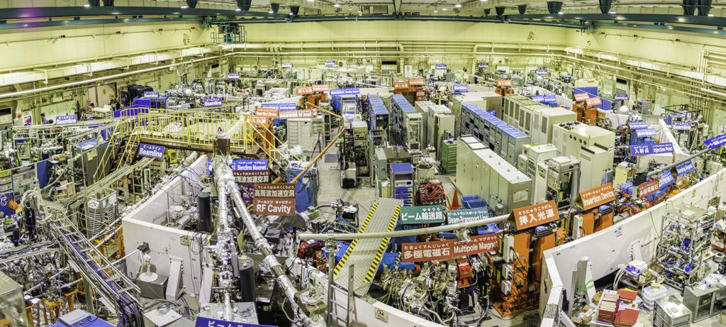 分子科学研究所一般公開2018のメインUVSOR大型実験施設