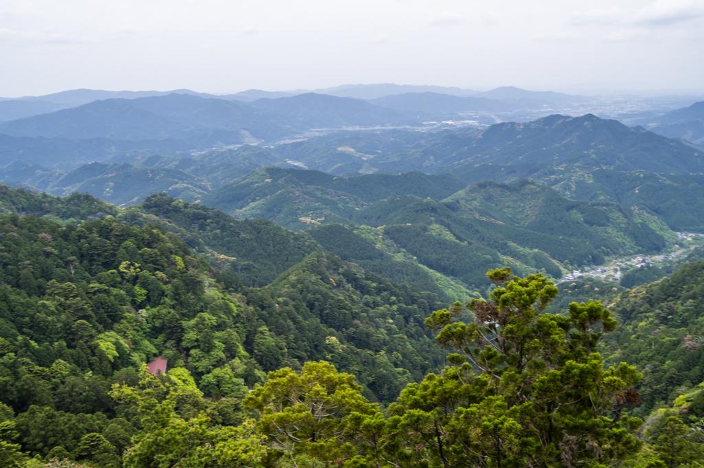 天狗岩展望台からの絶景
