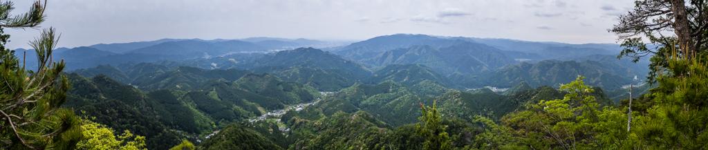 鳳来寺山の絶景