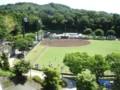 小鹿野町総合運動公園野球場(俯瞰)