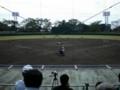 西都原運動公園野球場(バックネット裏から)