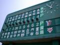 島田球場(スコアボード)