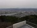 五台山展望台からの景色