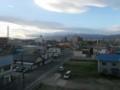 函館市若松町から北方向をのぞむ