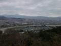 嵐山モンキーパークいわたやまからの風景