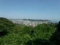 鎌倉広町緑地(相模湾の眺望)