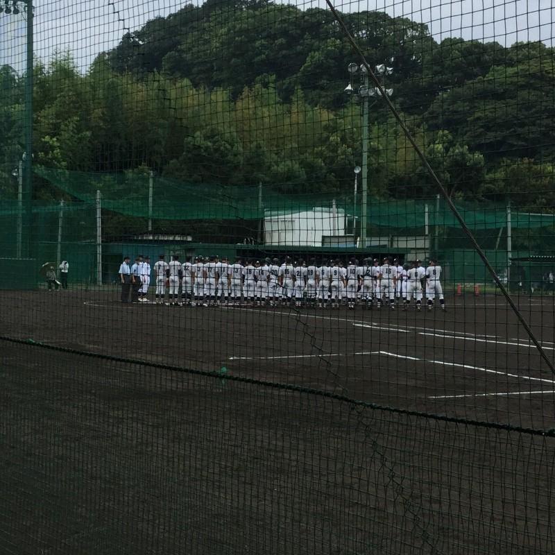 横浜×上矢部(試合前整列)