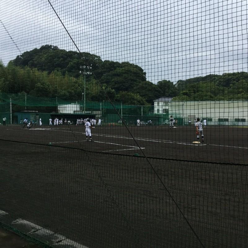 横浜×上矢部(試合風景)