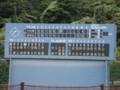 厚木市営玉川野球場(スコアボード)