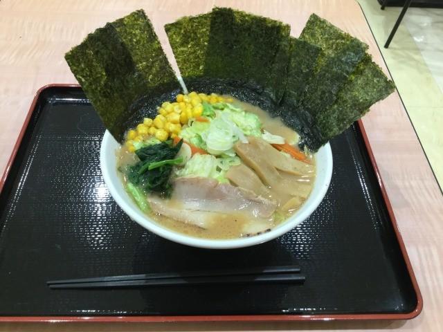 20171018横浜八景楼のラーメン