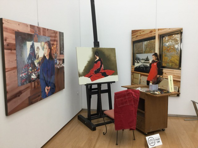 20180305「八代亜紀 アートの世界」(長崎県美術館)