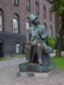 デンマークの写真(アンデルセン銅像)