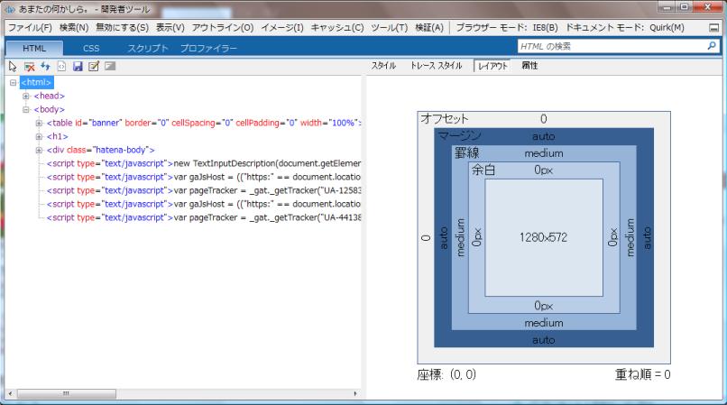 HTMLの編集
