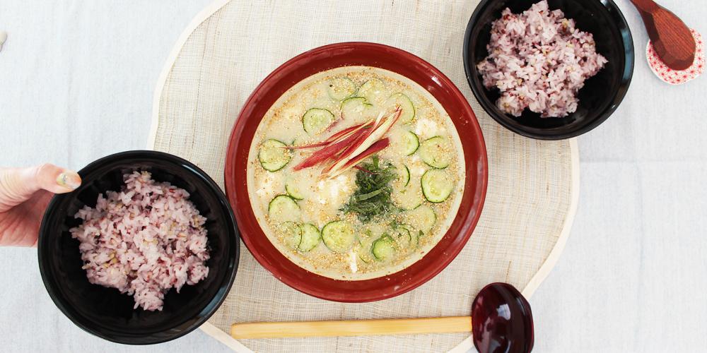 宮崎の郷土料理 冷や汁