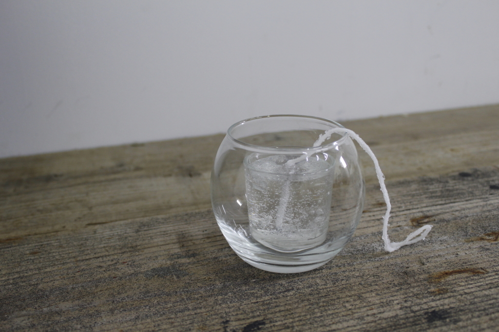 fガラスの器