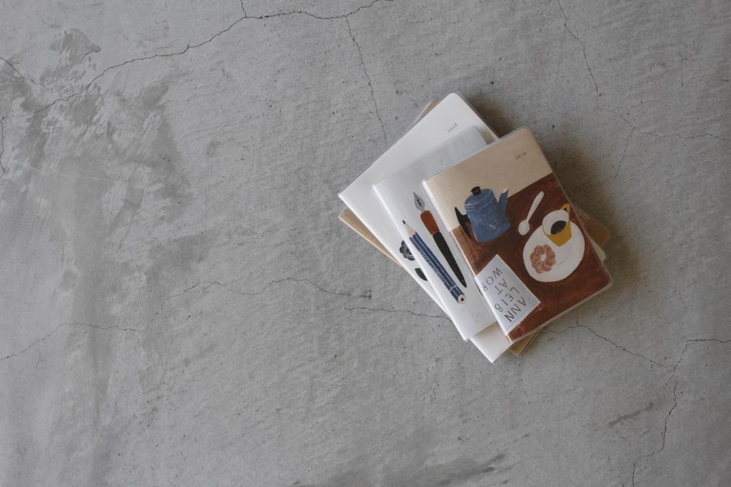 松尾ミユキさんの手帳たち