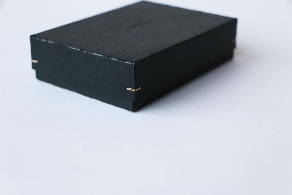 手作業によるボックス