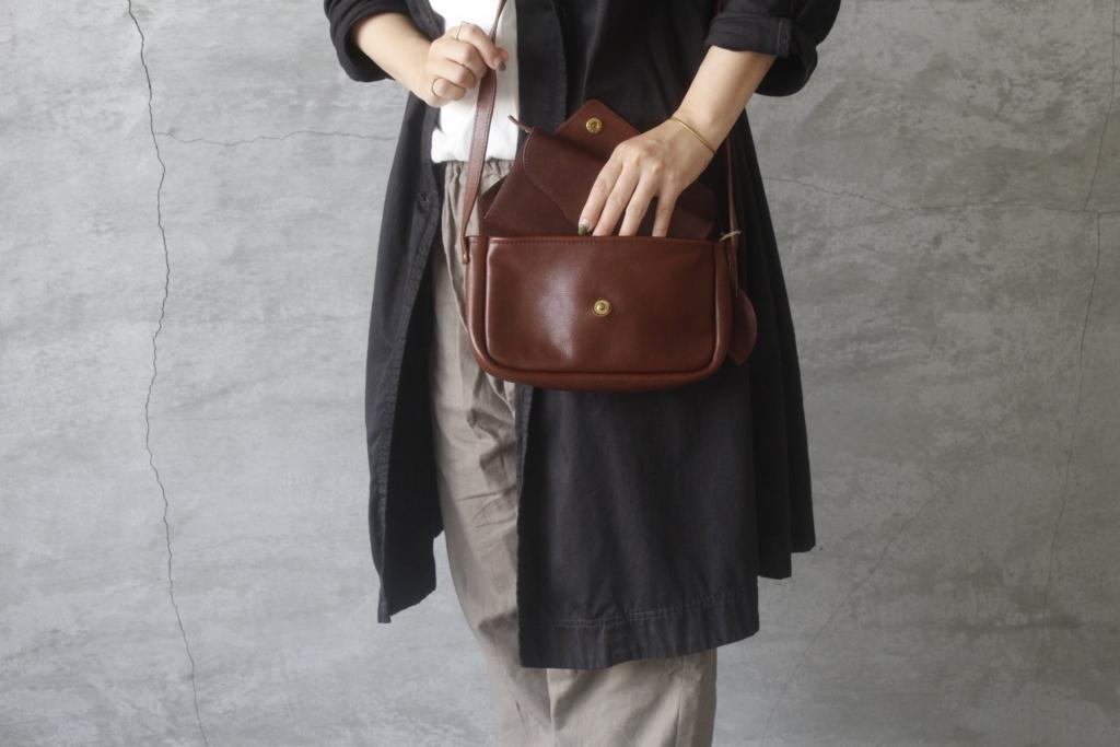 sankaku pochetteと長財布