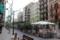 バルセロナの街AM9:00ごろ/まだ曇り
