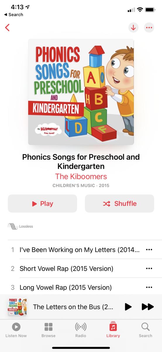 おすすめ英語 Phonics CDアルバム