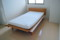 無垢のベッド&ラテックスのマットレス