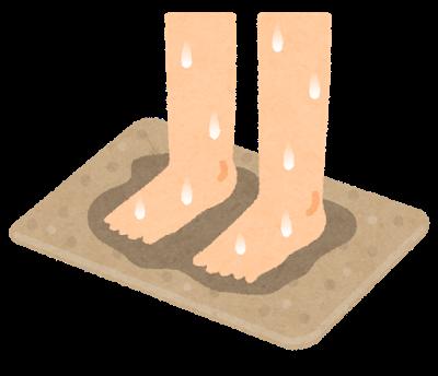 珪藻土バスマット