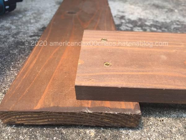 木枠の作成作業2
