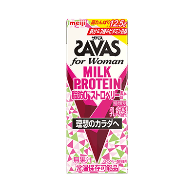 ザバス for Woman ストロベリー味