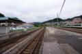 気仙沼駅の線路